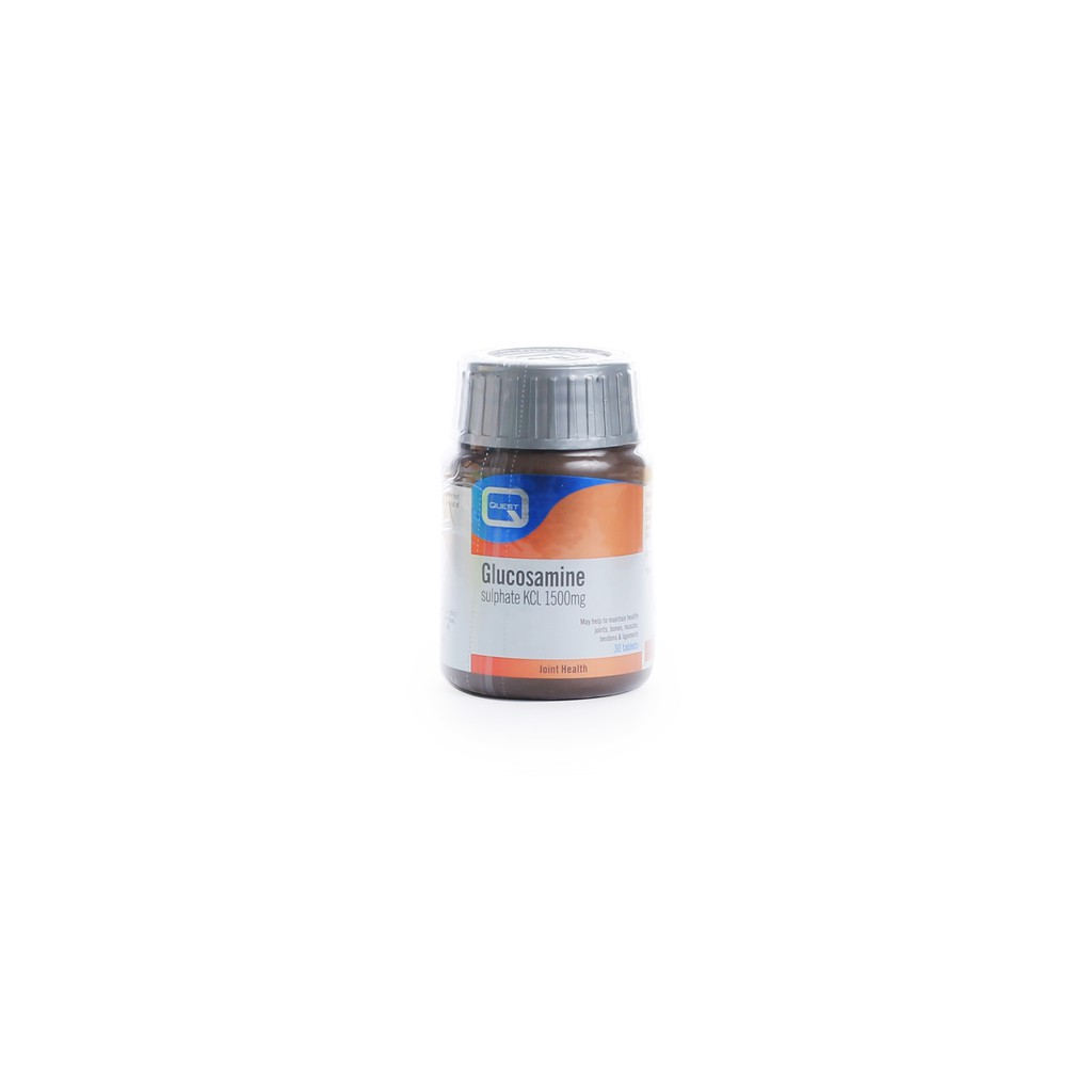 [MPLUS] QUEST Glucosamine Sulphate 1500mg 30 Tablets