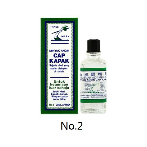 [MPLUS] CAP KAPAK Minyak Angin / Axe Medicated Oil 2 28ml