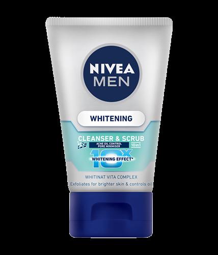 [MPLUS] Nivea For Men 88880 Acne Oil Control Cleanser & Scrub 100Ml