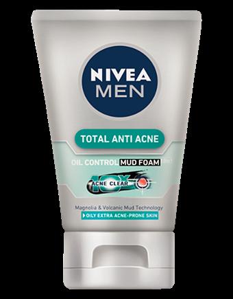 [MPLUS] NIVEA Men Anti Acne Mud Foam 100g
