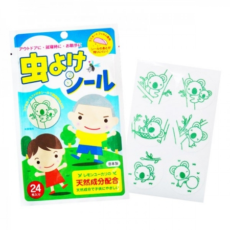 [MPLUS] Toshin Insect Repellent Patch 24S