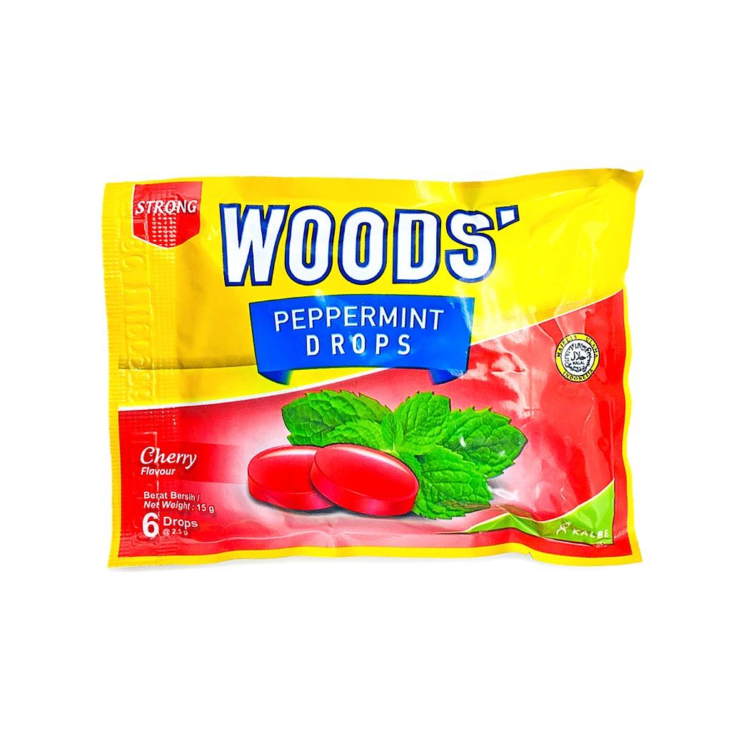 [MPLUS] WOODS' Lozenges Cherry 15g