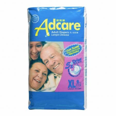 [MPLUS] Adcare Adult Leak Guard Diapers Xl6
