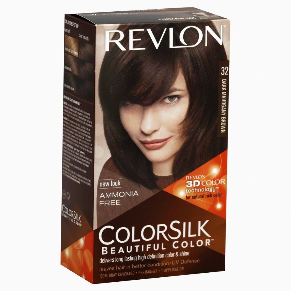 [MPLUS] REVLON Colorsilk 32 Dark Mahogany Brown
