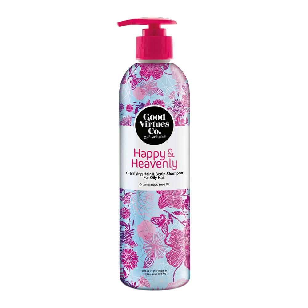 [MPLUS] Gvc Clarifying Hair And Scalp Shampoo For Oily Hair 300Ml