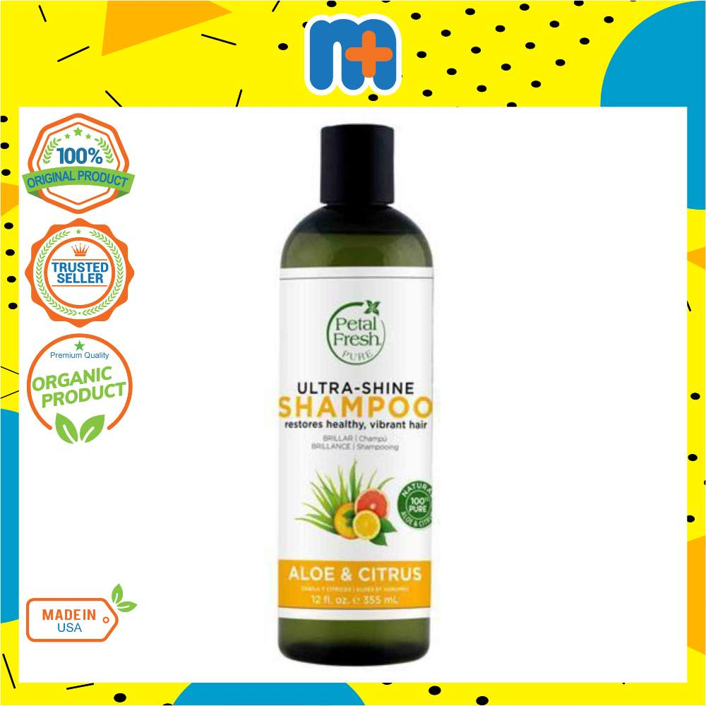 [MPLUS] Pf72153 Ultra Shine Shpoo Aloe & Citrus 355Ml