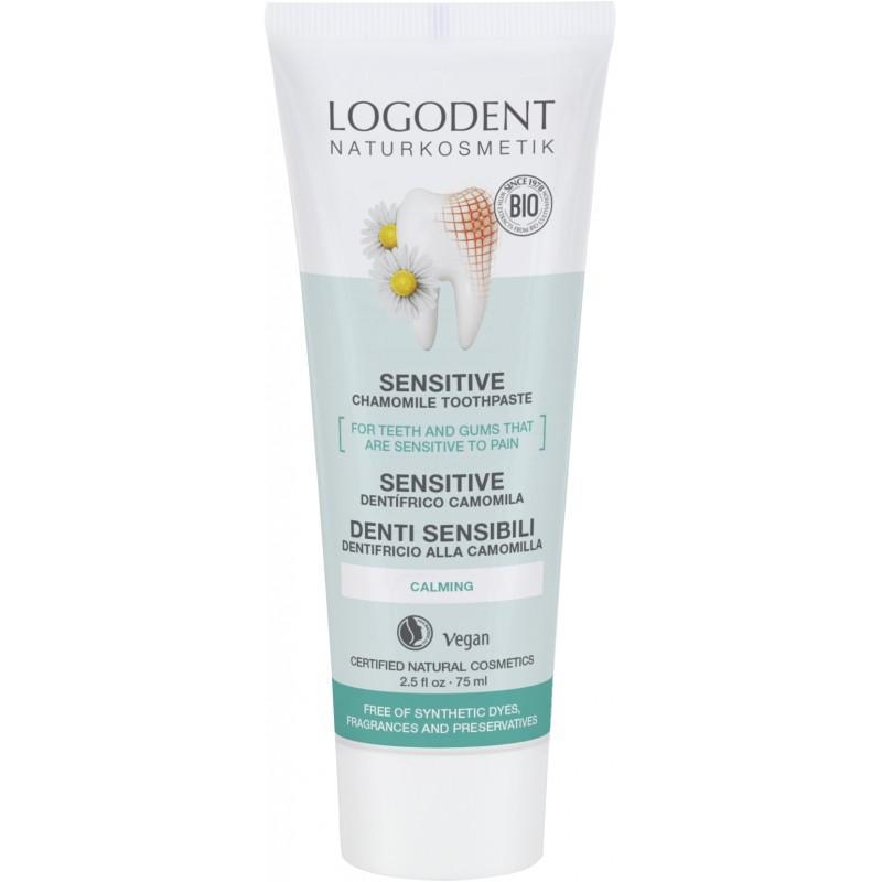 [MPLUS] Logodent 00829 Sensitive Toothpaste 75Ml