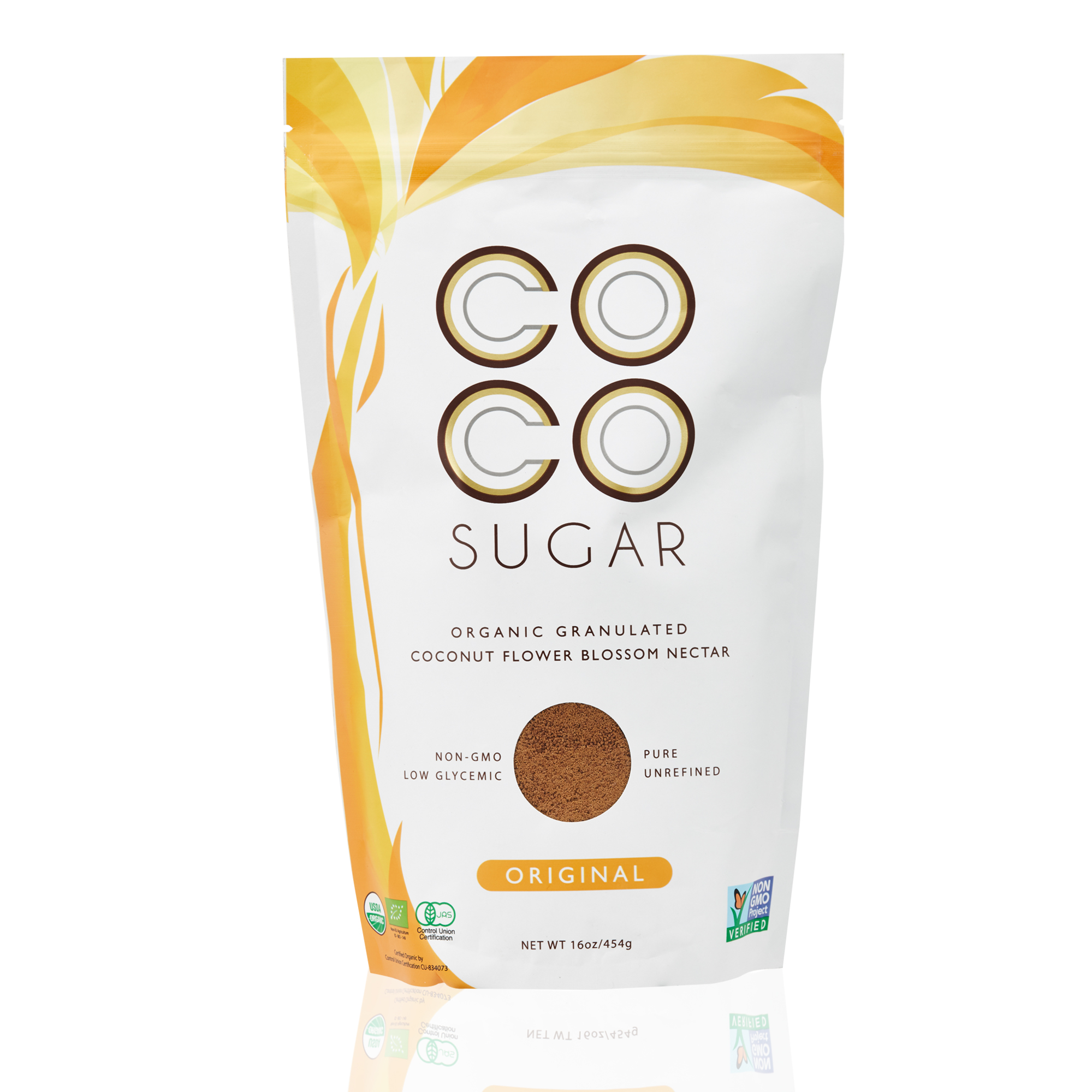 [MPLUS] Coco Sugar Organic Granulated Coconut Flower Blossom Nectar 454Gm