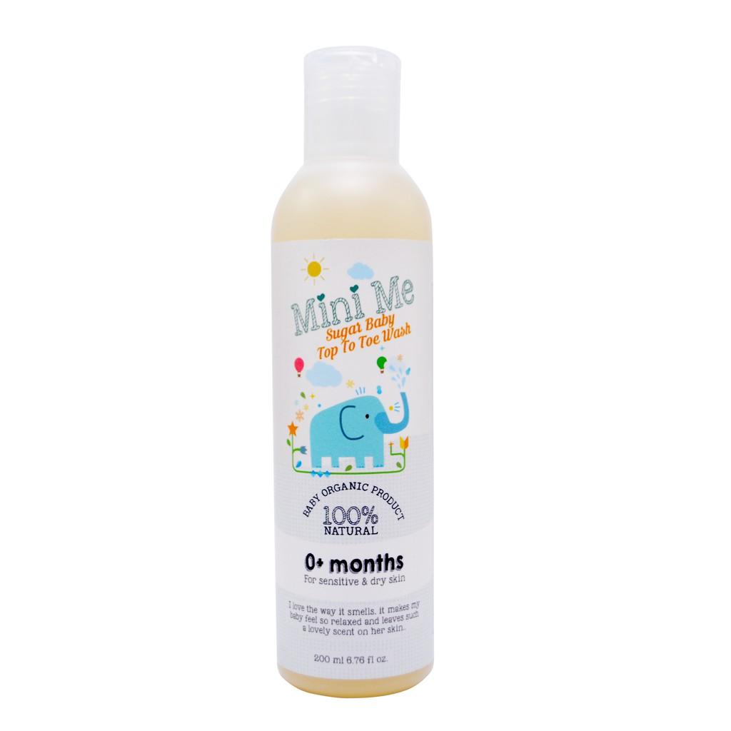 [MPLUS] Mini Me Sugarbaby Top To Toe Wash (200Ml)