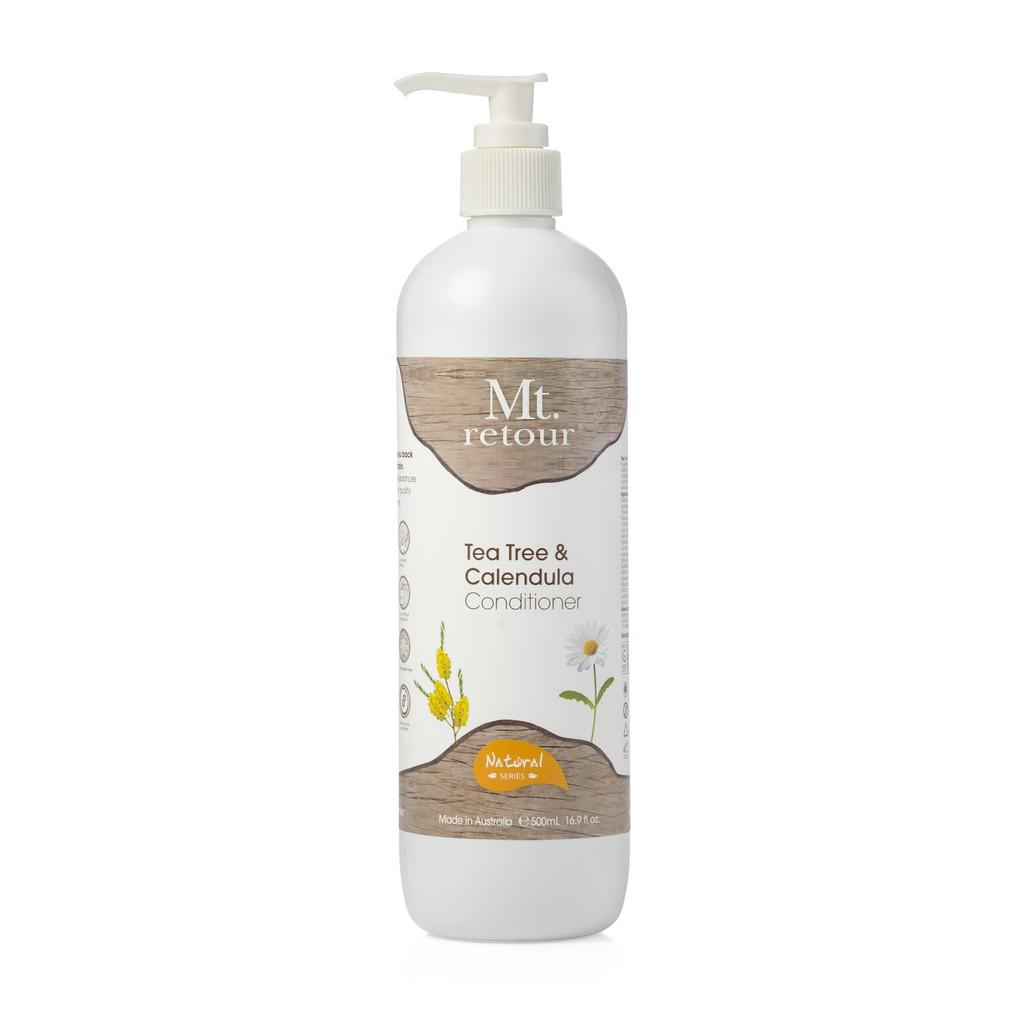 [MPLUS] Mt Retour Tea Tree & Calendula Conditioner 500Ml For Oily Scalp