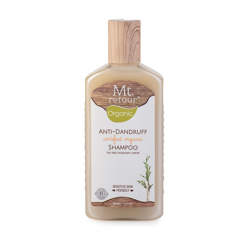 [MPLUS] MT RETOUR Anti-Dandruff Certified Organic Shampoo 270Ml