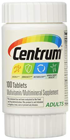 [MPLUS] CENTRUM Tablets 100s