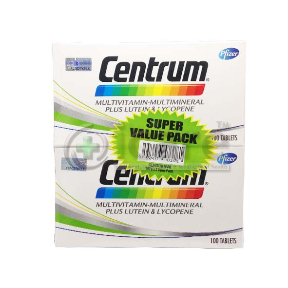 [MPLUS] Centrum 2X100S Twin Pack