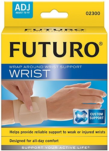 [MPLUS] Futuro Wrap Around Wrist Support Adj Beige