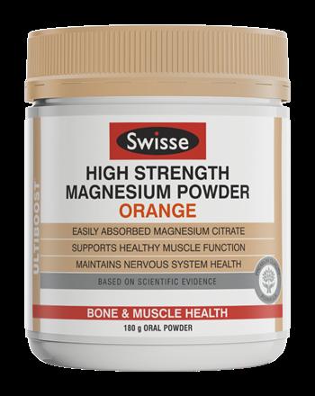 [MPLUS] SWISSE High Strength Magnesium Powder Orange 180g