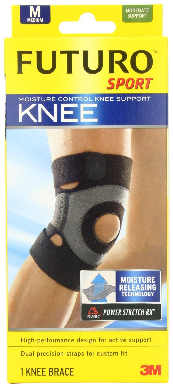 [MPLUS] Futuro Moisture Control Sport Knee Support [M] 1S