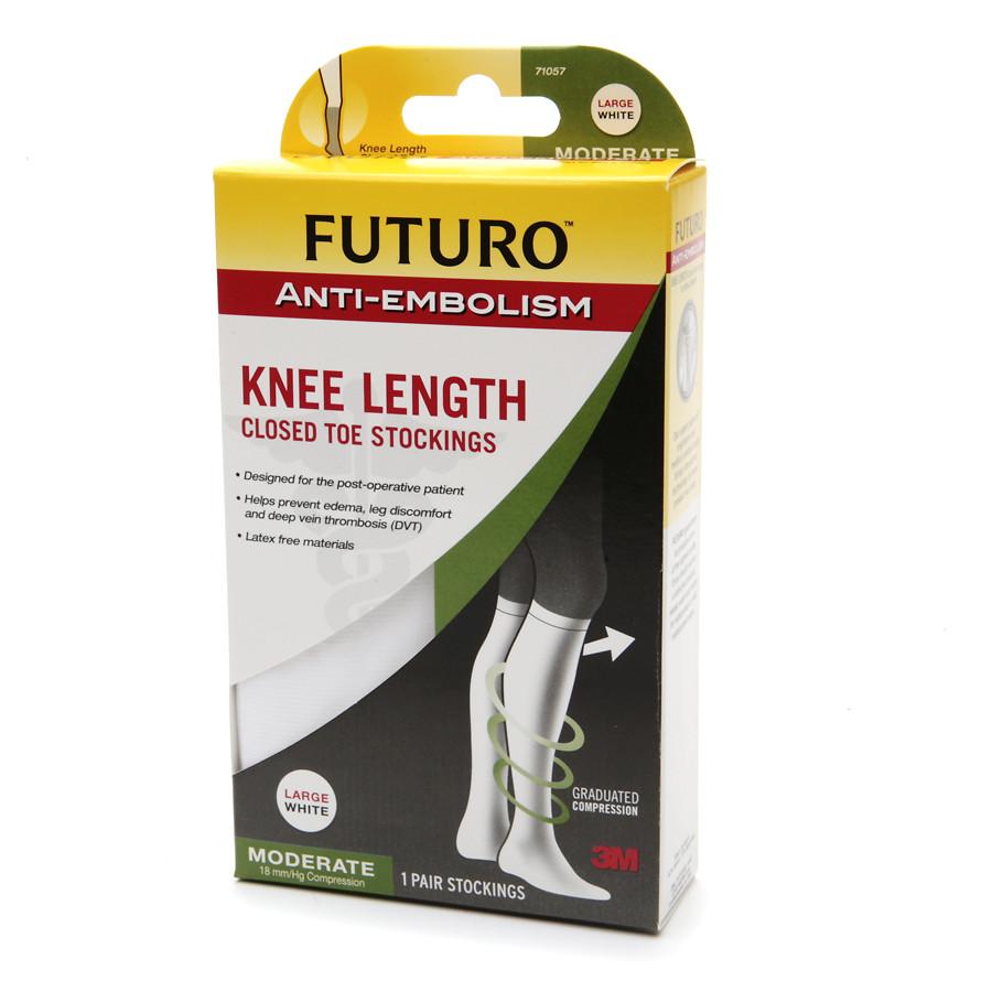 [MPLUS] FUTURO Anti-Embolism Stokings Knee Length Size L