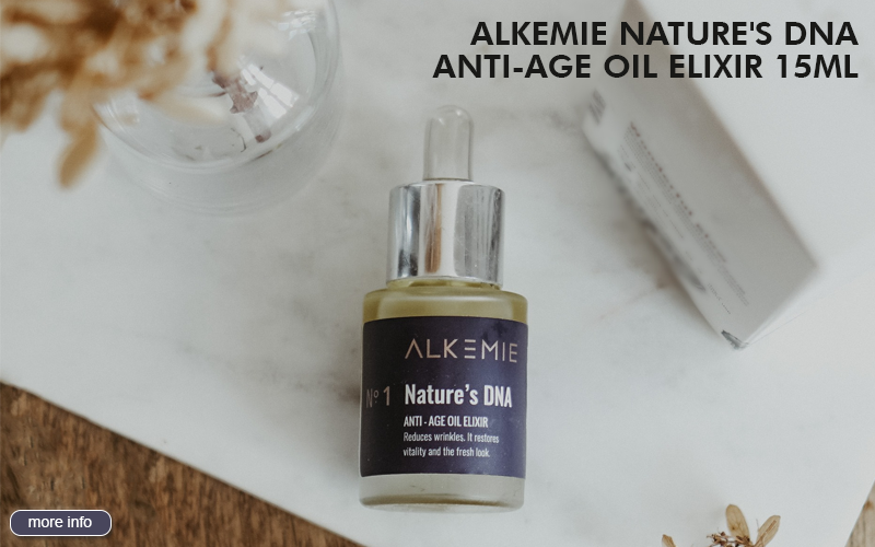 ALKEMIE NATURE'S DNA ANTI-AGE OIL ELIXIR 15ML